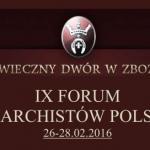 Program IX Forum Monarchistów Polskich