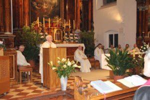 Mszy św. przewodniczył biskup Wiednia