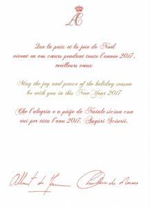 Ich Książęce Wysokości Książę Albert i Księżna Charlene Monaco